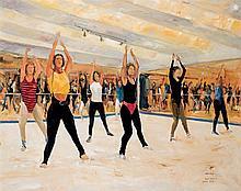 Salvador Castellá. Dance lesson