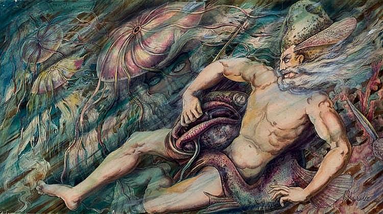 Ramón López Morelló. Medusa
