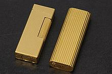 Two lighters Cartier and Dunhill