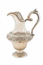 Spanish silver jar