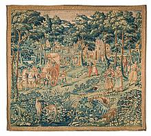 Flemish School late 16th C. or 17th C. Tapestry