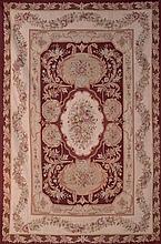 An Aubusson style rug