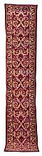 A Spanish corridor rug