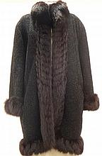 Christian Dior.  A suede and motton coat
