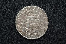 Four reales. Carlos III, 1769. Guatemala. Rare