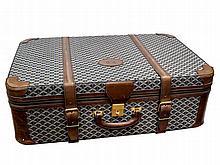 A Goyard's suitcase