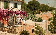 Antonio Ribas Oliver. View of a house