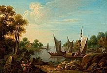 18th C. Dutch School. Landscape