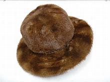Christian Dior. A mink wide-brimmed hat