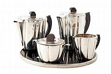 An Art Decó tea and coffee service, c. 1930