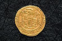 Dinar midraritas 337 H. Al Shakir-Segilmesa. Rara