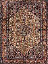 An Iranian wool rug