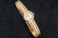 Cyma ladies gold watch