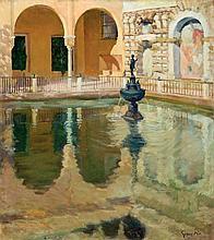 Eugenio Gómez Mir. The fountain