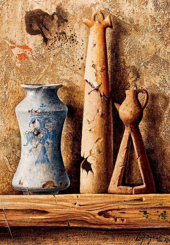José Lapayese del Río. Still Life with vase