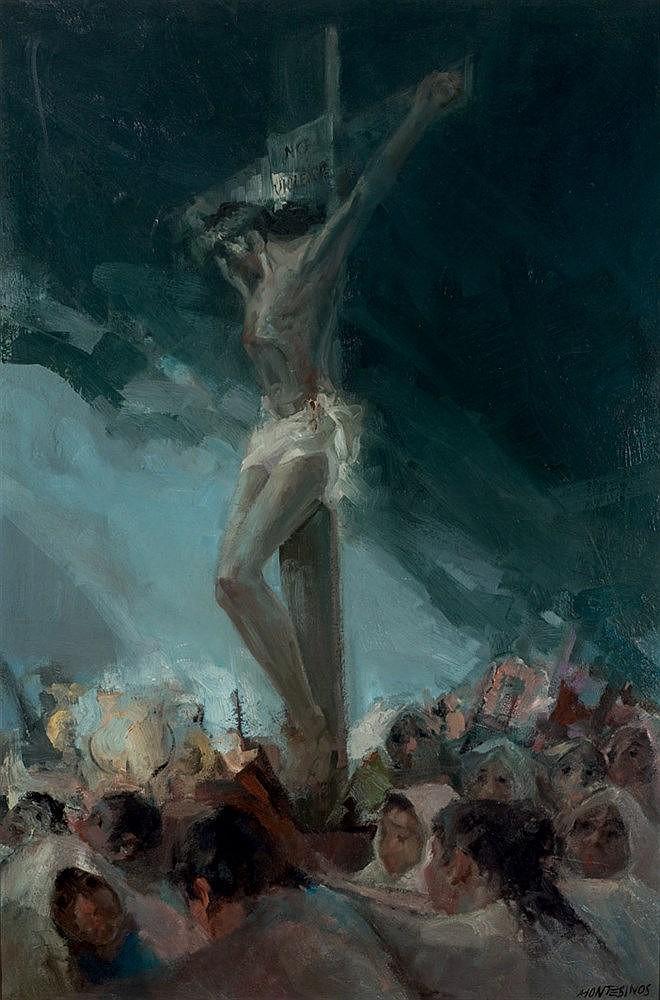 Juan Montesinos. El Cristo de las Angustias