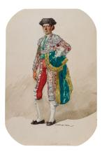 Francisco Hohenleiter. Seven watercolors