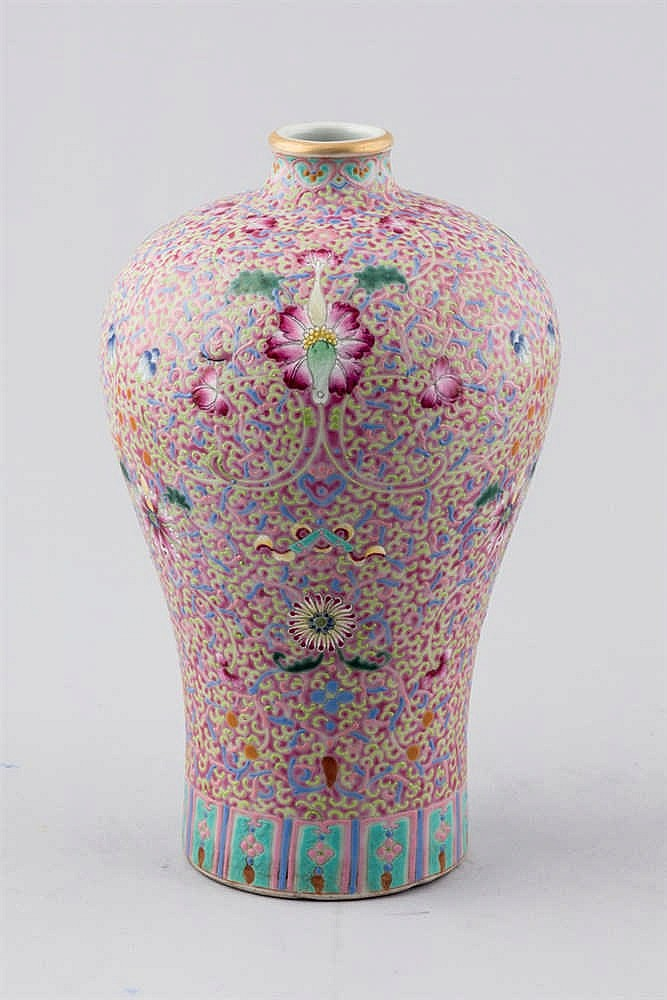A 19th. C Chinese porcelaine vase