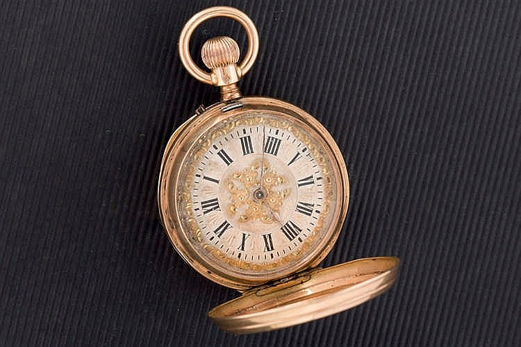 A Gold Ladies'' Pocket Watch, late 19th C
