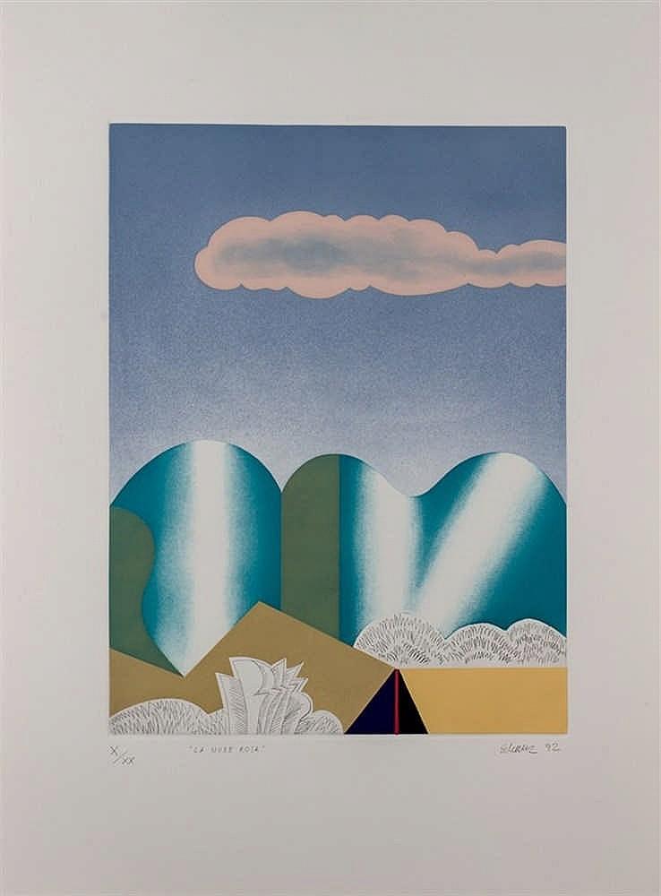 Francisco Echauz. La nube rosa