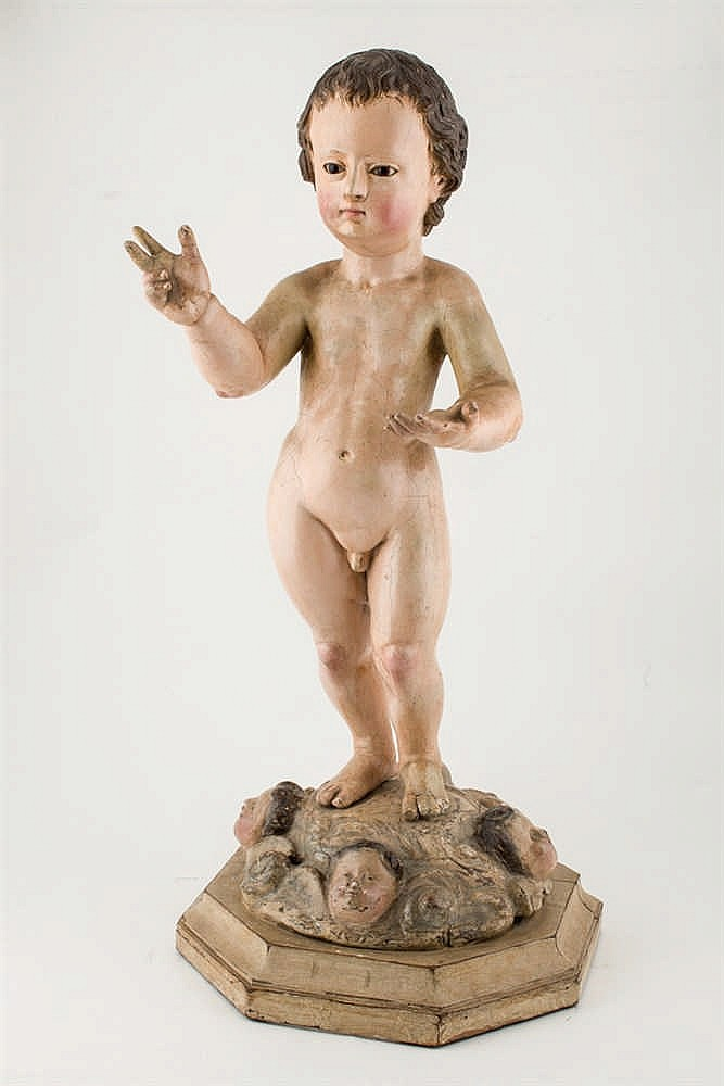Spanish School 18th C. Jesus Child
