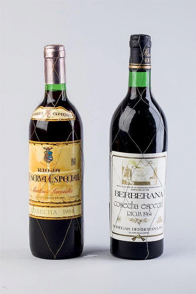 Six Wine Bottles