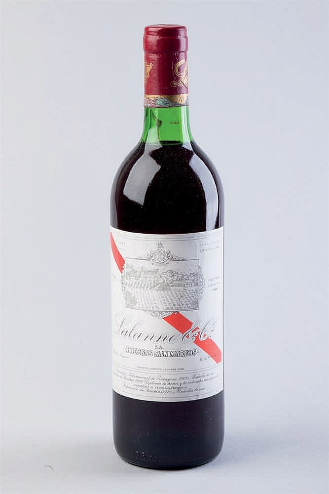 12 bottles Lalanne San Marcos 1966