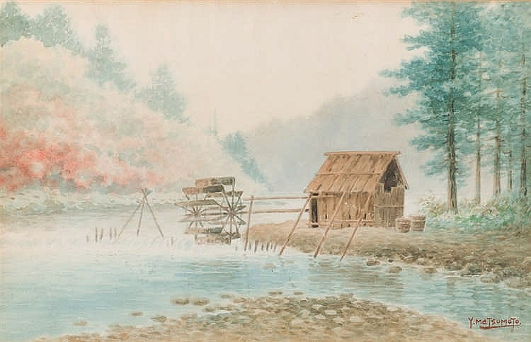 *Y. Matsumoto. Landscape with mill