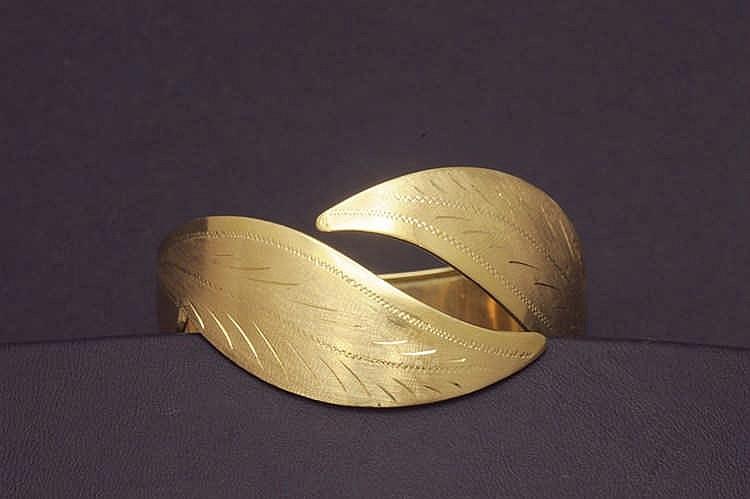 18 K. gold bracelet