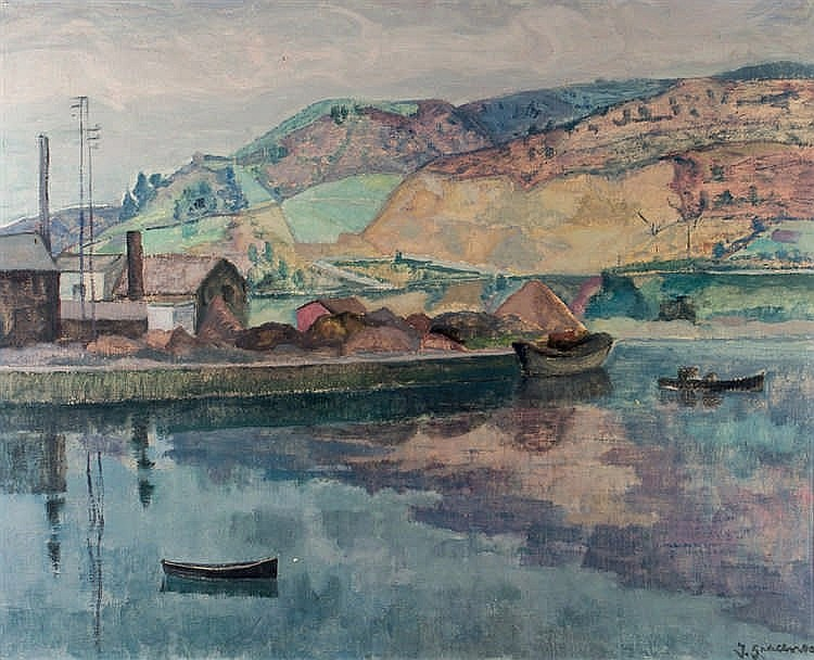 José Gracenea Aguirregomezcorta. Basque landscape