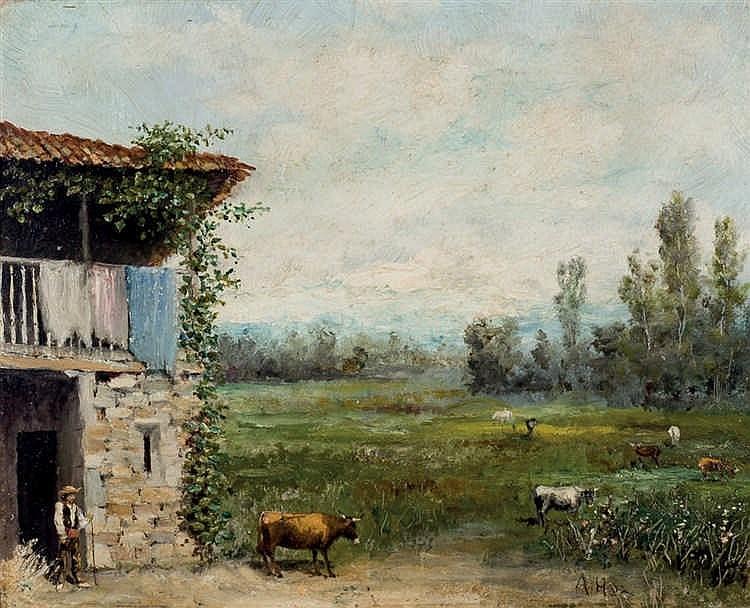 Ángel de la Hoz Fernández Baldor. Rural view