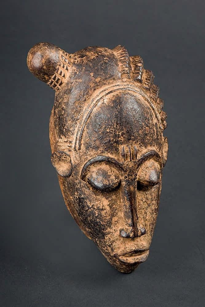 A Baule Passport Mask, c. 1960-70. Ivory Coast