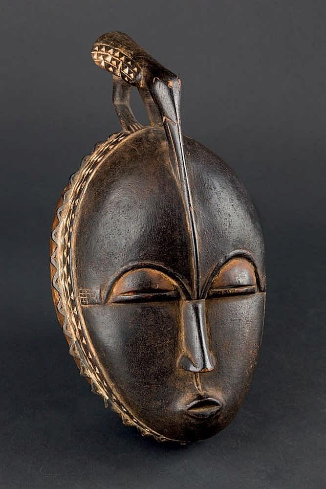 A Baule Mask, c. 1970. Ivory Coast