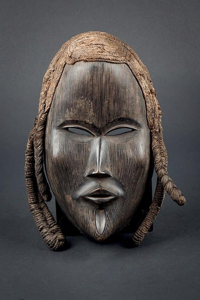 A Dan Mask, c. 1970. Ivory Coast