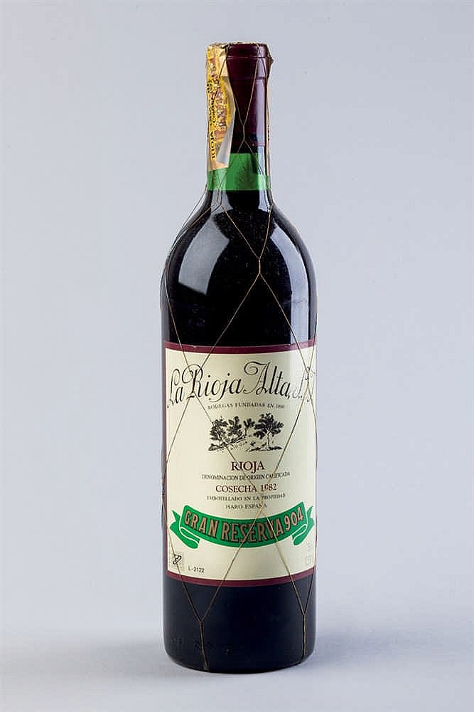 6 bottles Rioja Alta S. A. G. R. 904, 1982