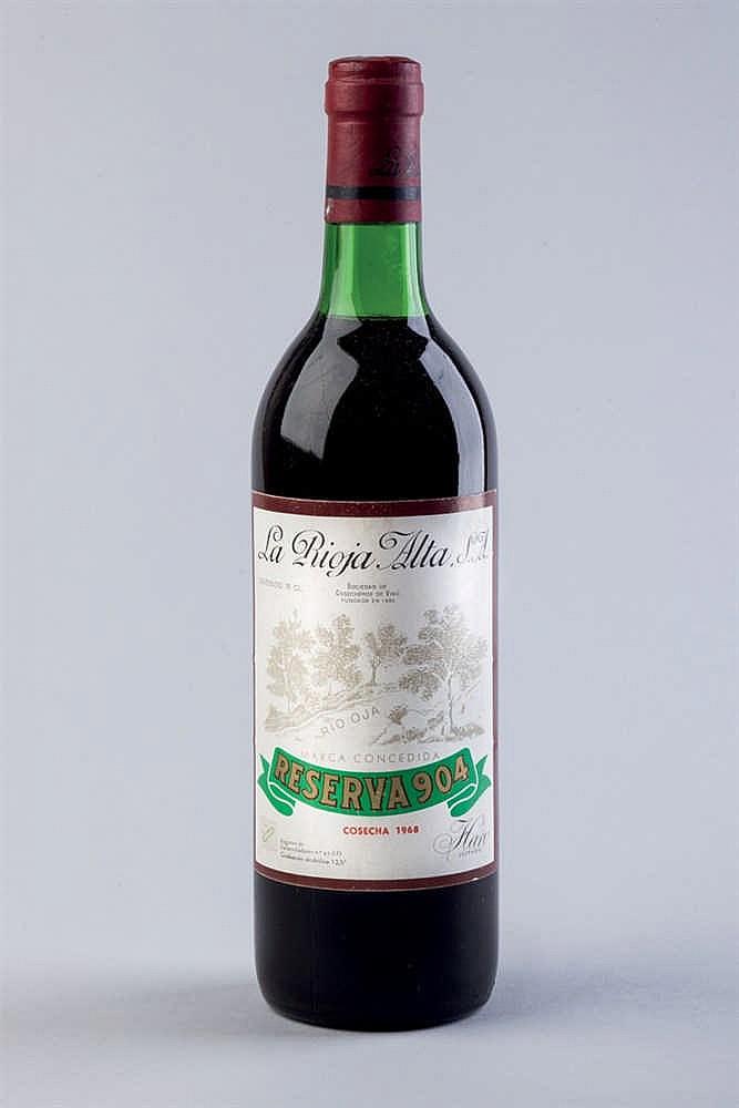 3 bottles Rioja Alta S. A. 904 R. 1968