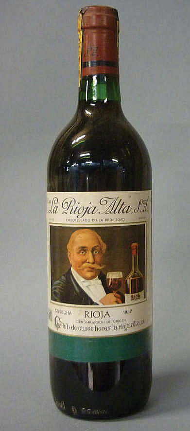 18 bottles Rioja Alta Club Cosecheros 1982