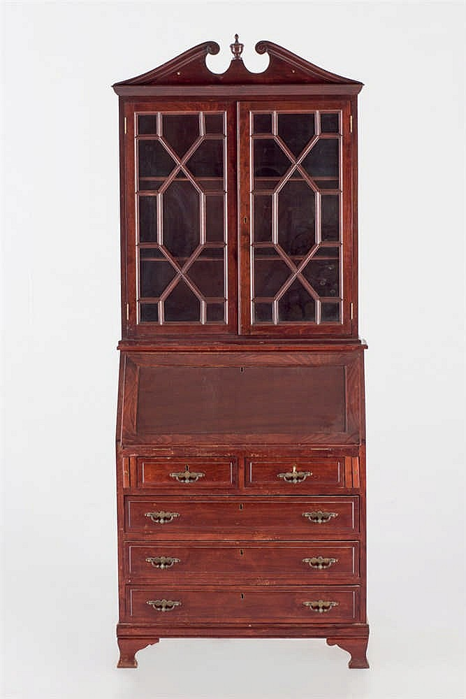 A georgian style bookcase