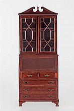 A georgian style bookcase