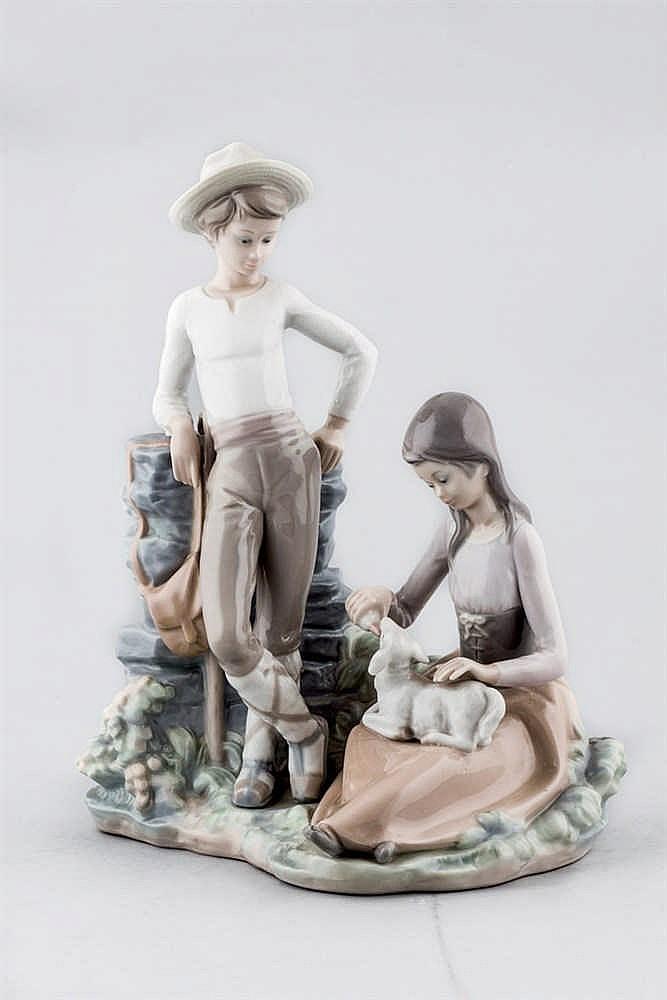 A Lladró spanish porcelaine figure