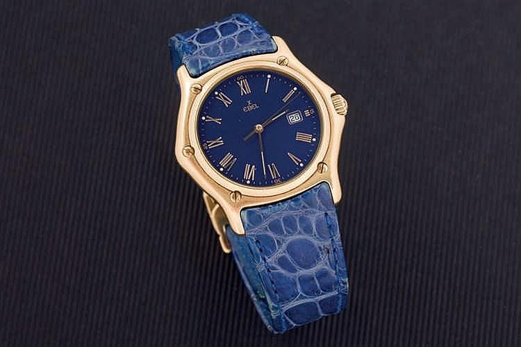 Ebel men gold watch