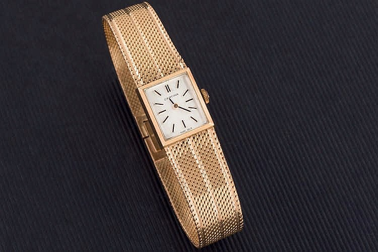 Certina ladies gold watch