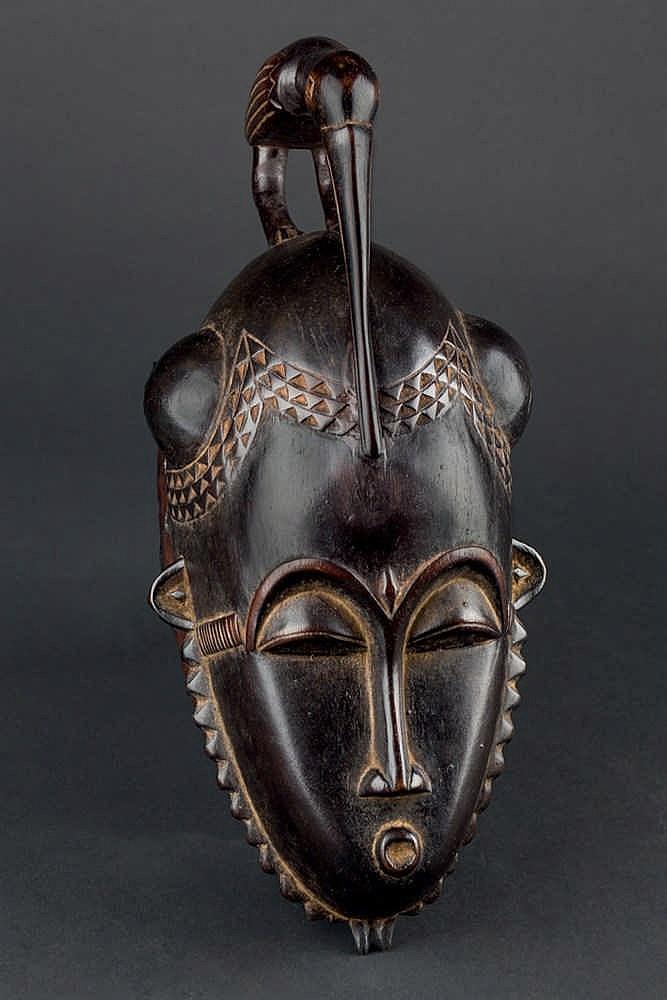 A Baule/Yaure Mask, c. 1970-80. Ivory Coast