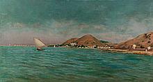 Enrique Florido. Landscape in Malaga