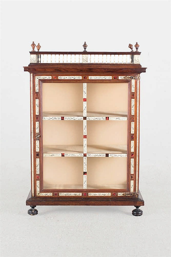 A 18th.C Spanish display cabinet