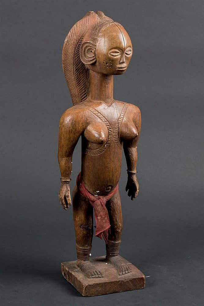 A Hungana Figure, 19th C. P. R. Congo