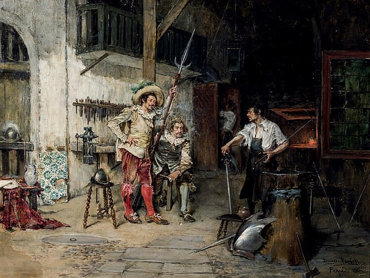 Domingo Muñoz y Cuesta. The sword maker