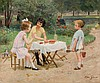 Victor Gilbert. Children playing, Victor-Gabriel Gilbert, €2,500