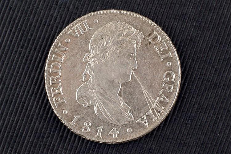 8 reales. Fernando VII. 1814 .Madrid.
