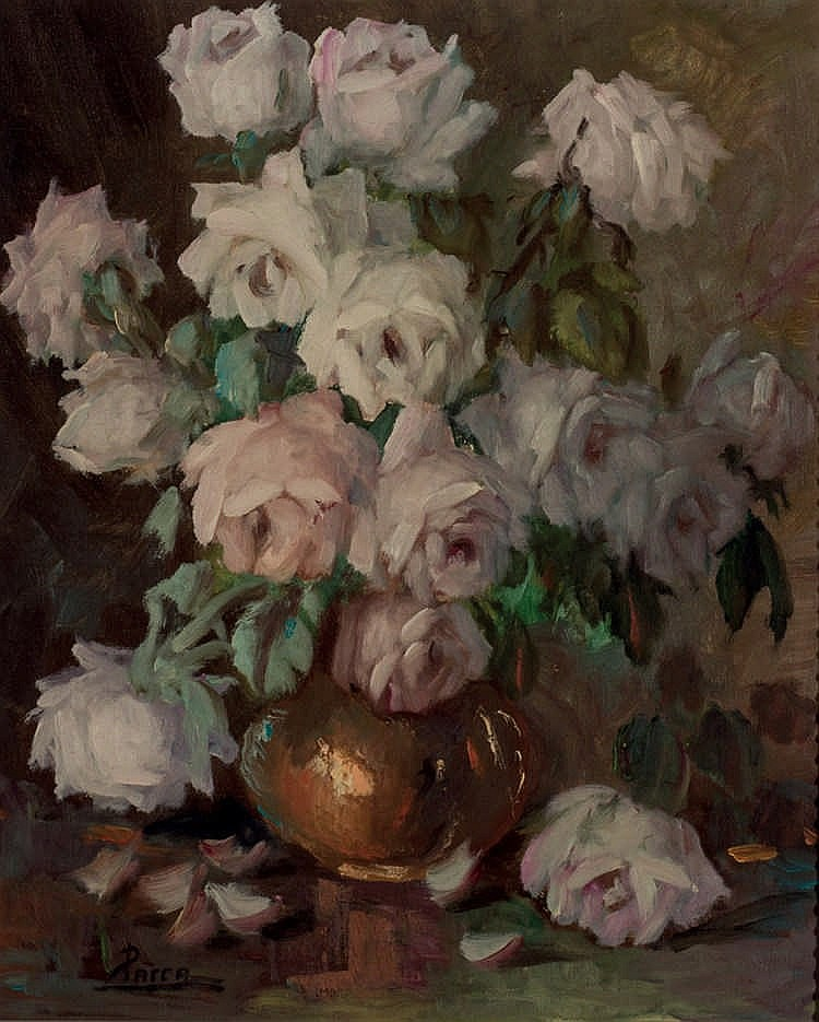 *Parra. Flower vase